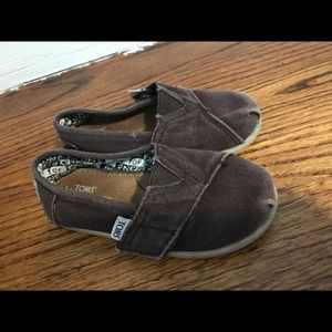 Toms shoes Toddler size 8